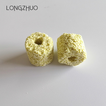 Biological filtration ceramic ring