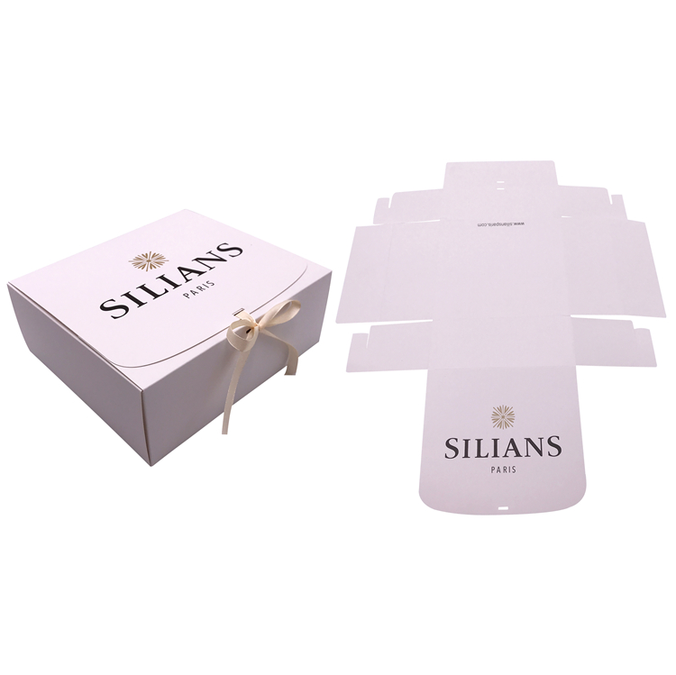 Oem Square Foldable Paper Box For Gift Packaging