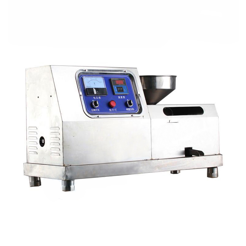Auto Oil Press Equipment For Business Commerical Horizontal Electric Oil Expeller Peanut Soybean Sesame Oil Extractor XZ-Z505