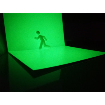 ورقة جرافيت PVC Photoluminescent Realglow