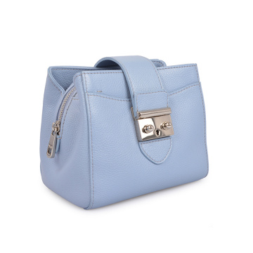 Useful Pure Color Girls Crossbody Daily Leather Bags