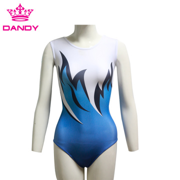 Frouljus Dames Bodysuit Stretch Gymnastiek Leotard