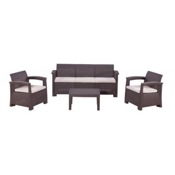 5 Seaters (4th Age) Outdoor Plastic Sofa Set
