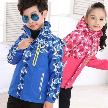 Chidrens Cute Plus Size Snow Ski Jacket