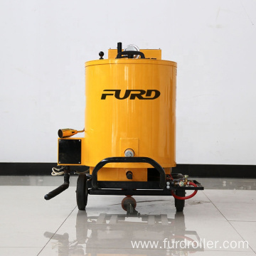 Asphalt Crack Sealing with Driveway Sealer Machine Road Crack Construction FGF-60