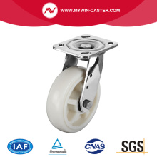 Plate Swivel PP Stainless Steel Caster