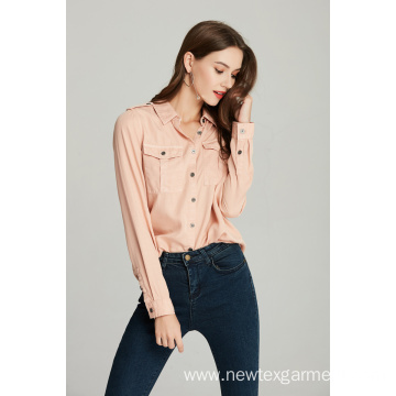 Ladies Tencel Shirt Price