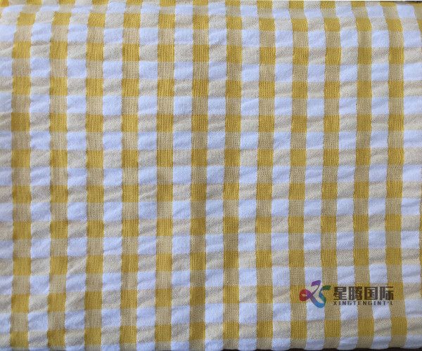 Seersucker and Plaid Yellow