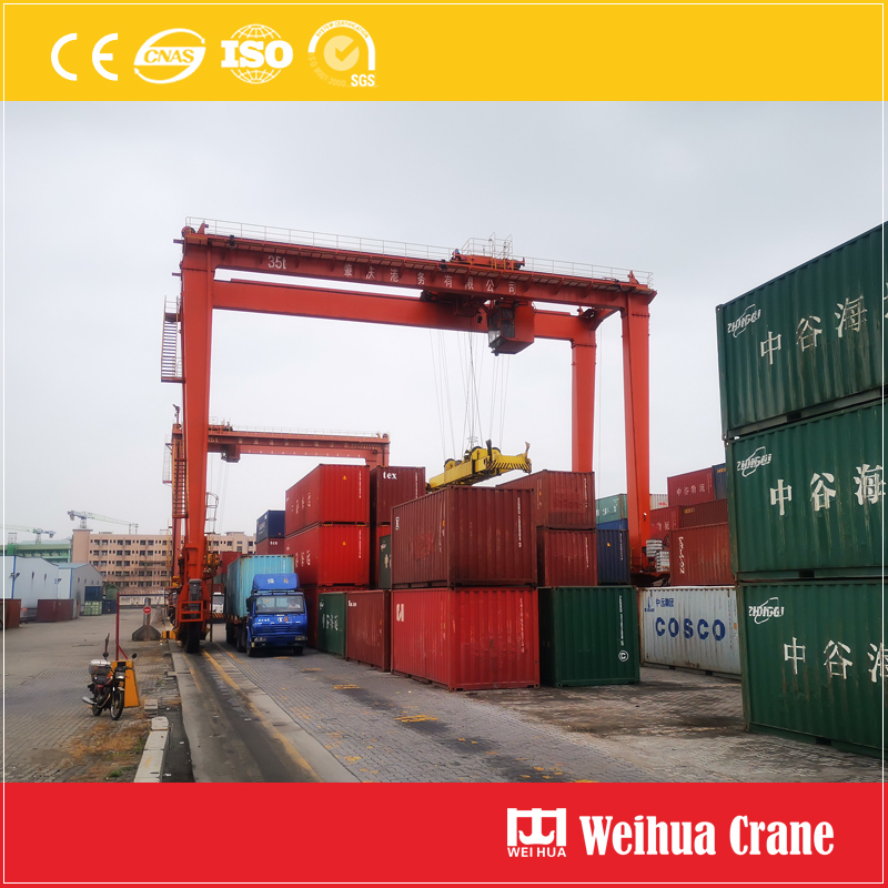 35t-rubber-tire-Container-Gantry-Crane