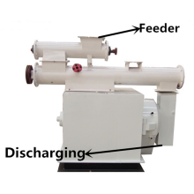 Horizontal ring die feed pellet mill