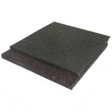 High density weight room flooring tiles