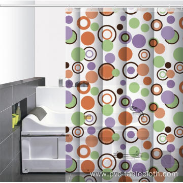 Waterproof Bathroom printed Shower Curtain Dollar Tree