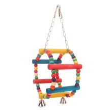 PipiFren Parrots Toys And Accessories For Bird Toys Love Swing Conure Budgie Parakeet Supplies Cage Decoration parkiet