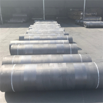 uhp500mm graphite electrode with nipples for steelsmelting