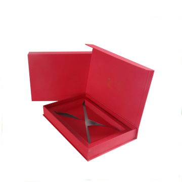 Custom Printing Book Magnetic Flat Cardboard Gift Boxes