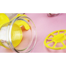 Reusable Drinking Plastic Cup With Strainer