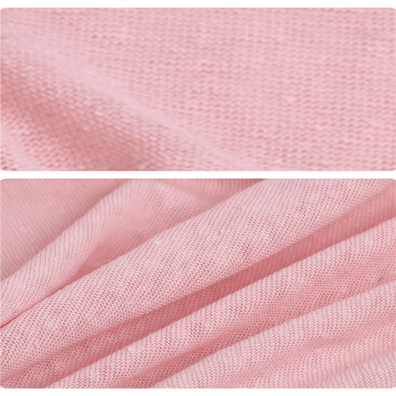 Dyed Knitted Linen Jersey Fabric (3)