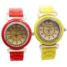 Popular Market Cheap Quartz Geneva Ladies Waterproof Watch