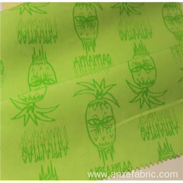 100%cotton poplin printed fabric popular sale for garment