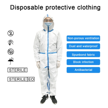 Disposable Non Woven Isolation Gown For Hospital