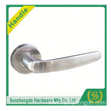 SZD STLH-002 stainless steel lever handle on rose with escutcheon