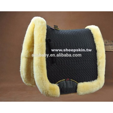 Horse riding pad/sheepskin saddle pad/horse sheepskin numnah