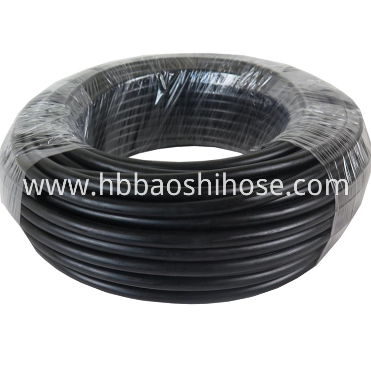 One Layer Fiber Braided Rubber Hose