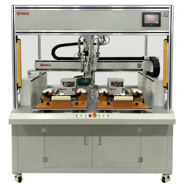 HMI and PLC Dragon Door Screw Locking Machine