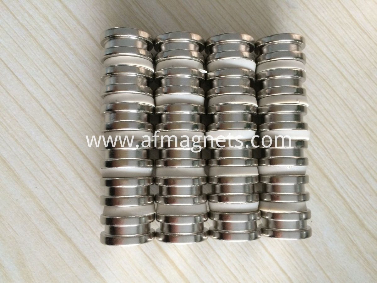 Neodymium Disc Magnets With Step In