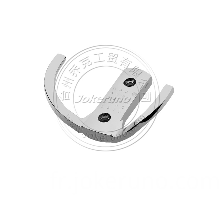 Aluminium clothes hook 18004