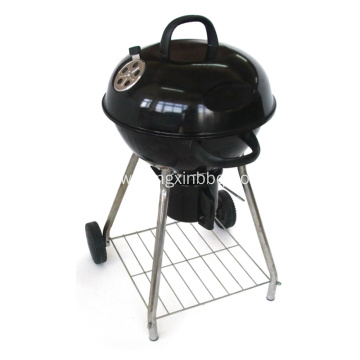 18 Inch Kettle BBQ Grill Black
