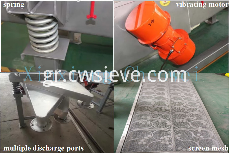 linear vibrating screen01