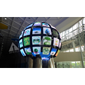 P10 Indoor 2m diameter led sphere display