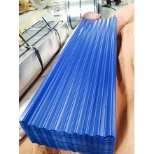 Colored Coated Corrugated Metal Roofing