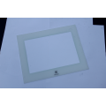 White Tempered Glass LED Digital Touch Controls