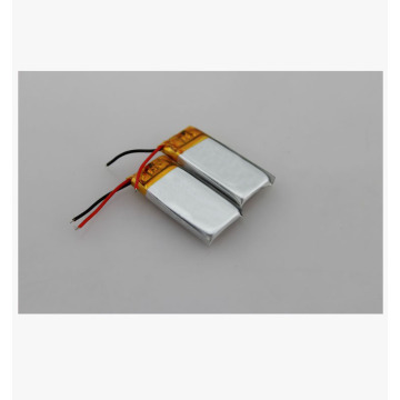 ultra thin small lipo battery with 130mAh