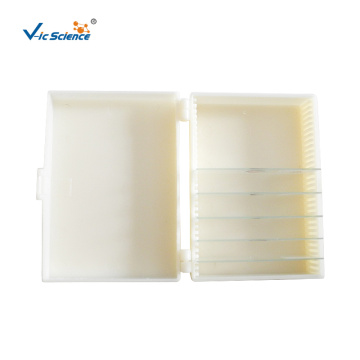 Medical Student Use Biological Tissue Slide