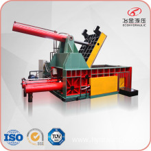 400ton Press Car Shell Scrap Waste Metal Baler