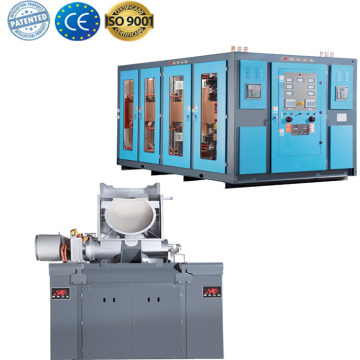 Hot sale induction smelting furnace for melting copper