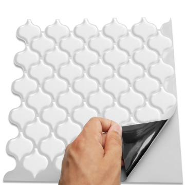 3D Mosaic Vinyl Peel and Stick Adhesive Tiles