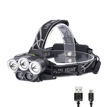 Outdoor XML-T6 Led Headlamp Powerful Led Headlight