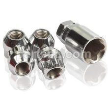 conical open end locking nuts
