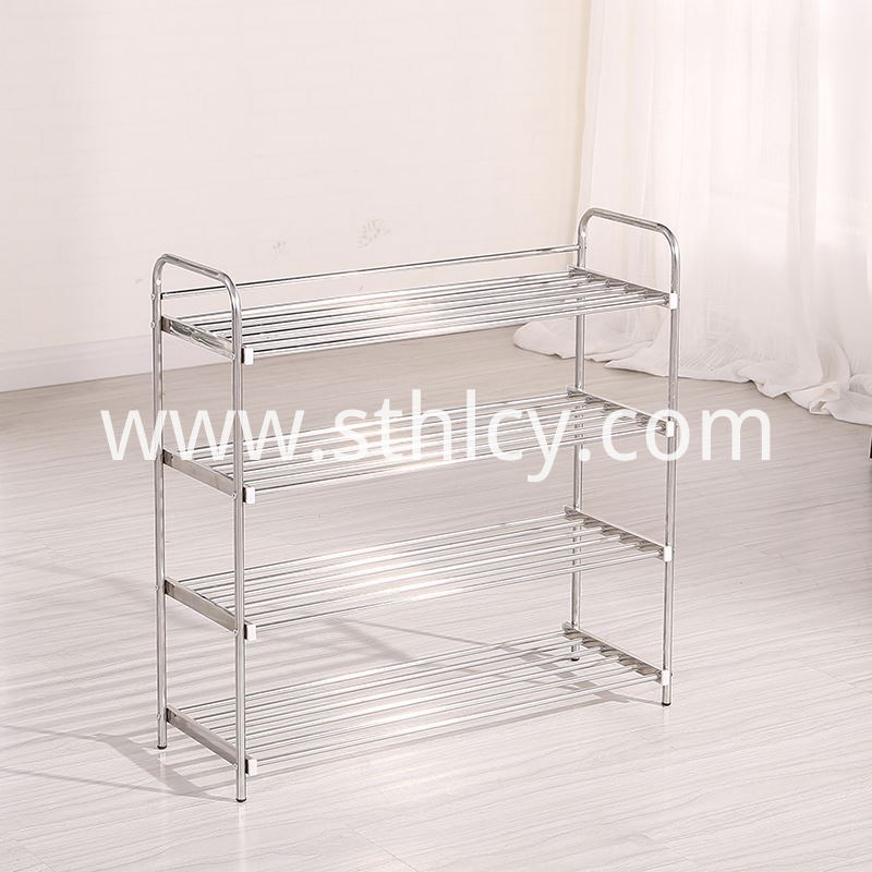 Modern Simple Metal Stainless Steel Shoe Frame03