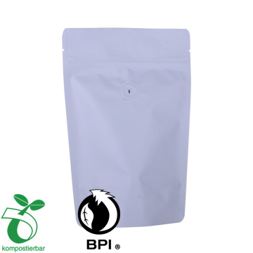 custom print biodegradable Stand up bags for food/Tea/Coffee 250g