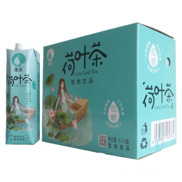 Lotus leaf tea drink