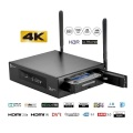 Moves Poster Media-Player 4K EWEAT R9PLUS With HDR10 2.4/5.8G Wifi BT4.0 USB3.0 HDD Free Ship Realtek Quad Core Android-Tv-Box