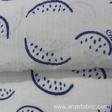 100% Organic Cotton Gauze Fabric for Baby Bedding
