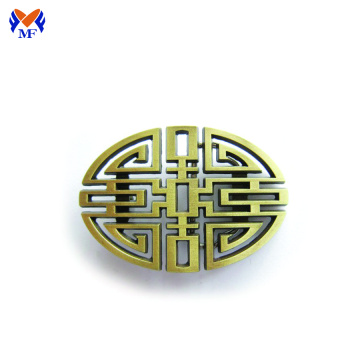 Custom zinc alloy metal belt buckle