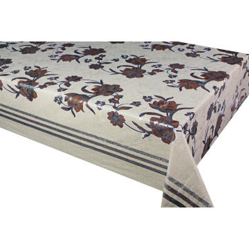 Pvc Printed fitted table covers Table Runner Sims