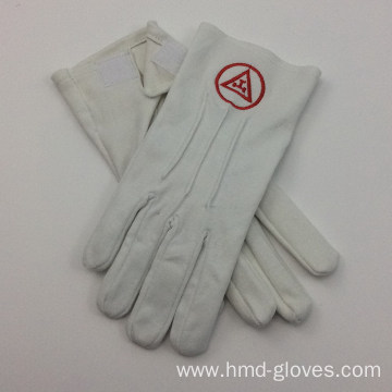 Cheap Masonic White Cotton Gloves